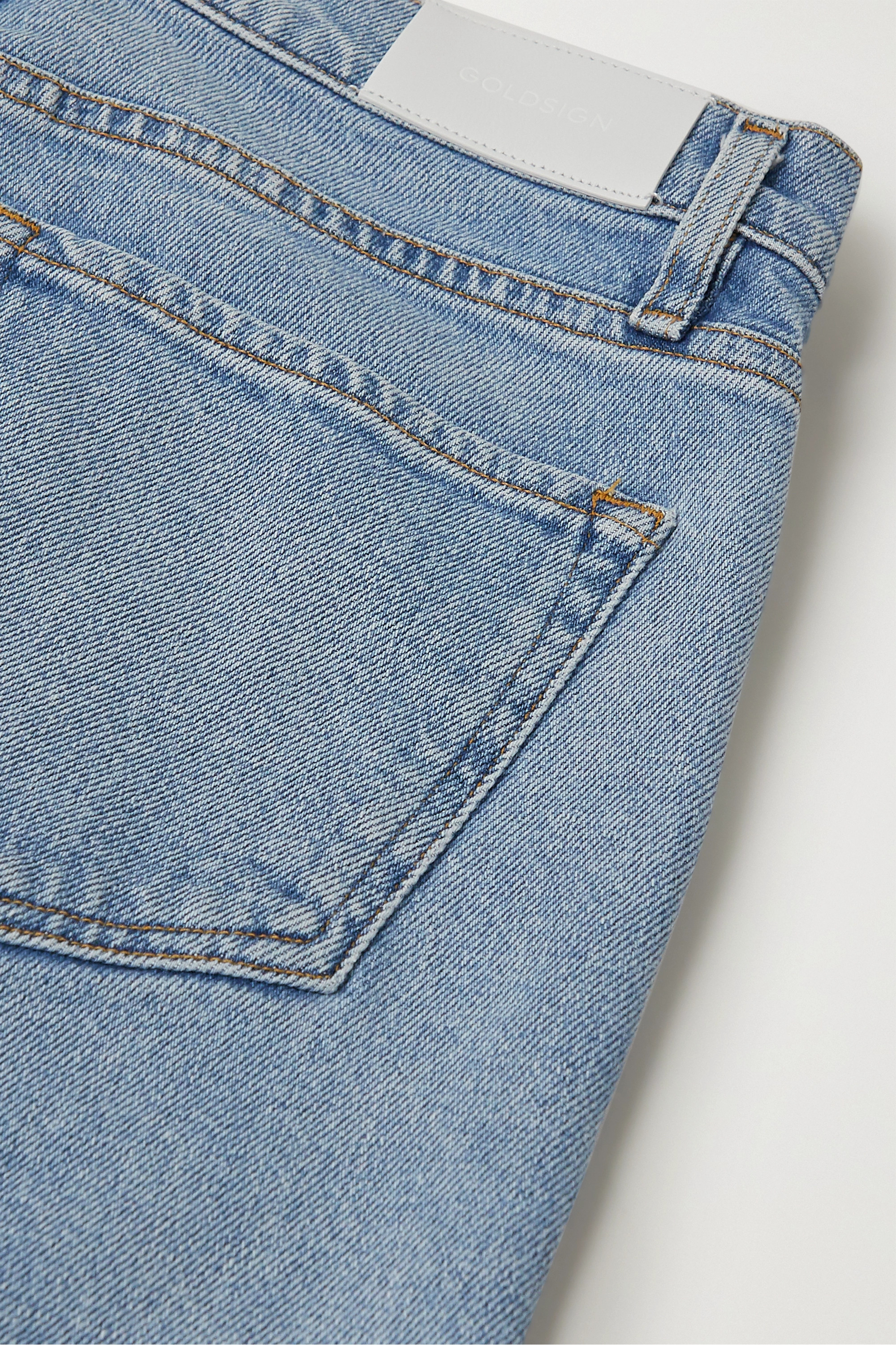 GOLDSIGN + NET SUSTAIN high-rise bootcut jeans