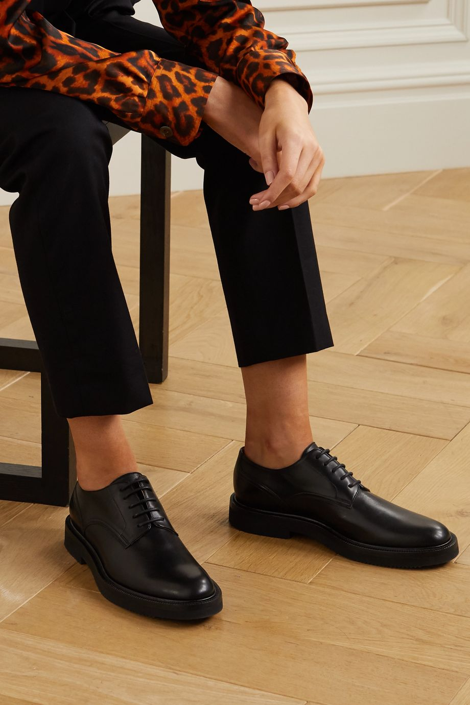 Dries Van Noten Leather brogues