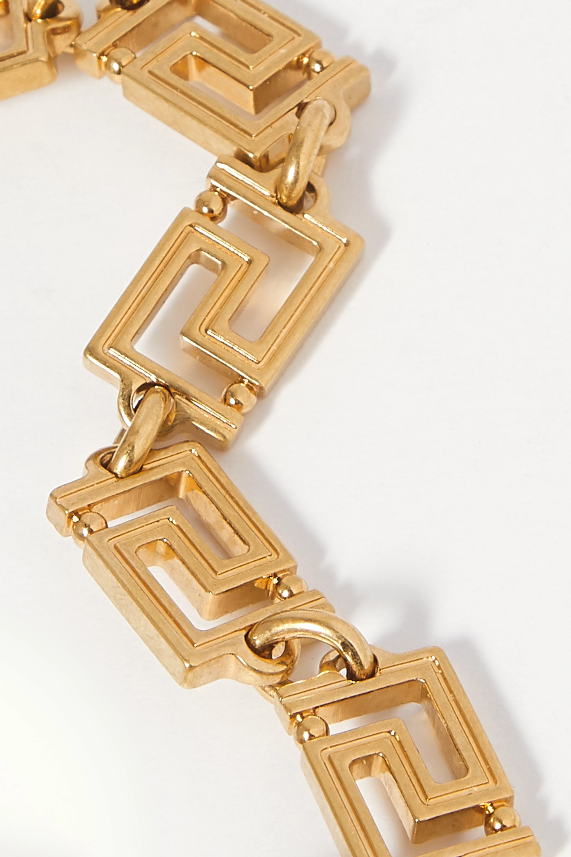 Versace Gold-tone anklet