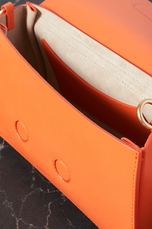 Wandler Georgia textured-leather shoulder bag