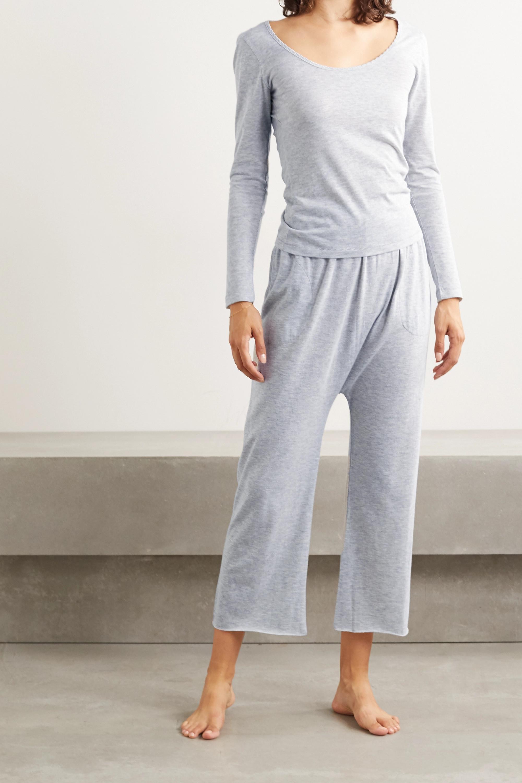 The Great Cotton-blend jersey pajama set