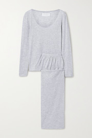 The Great Cotton-blend jersey pajama set