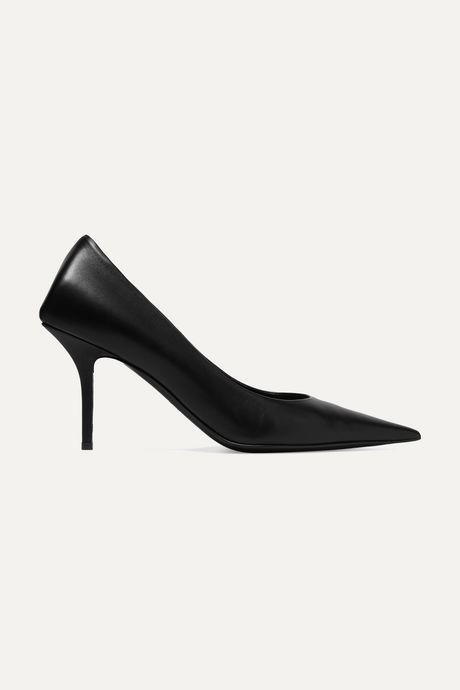 Black Leather pumps | Balenciaga xwOrwG