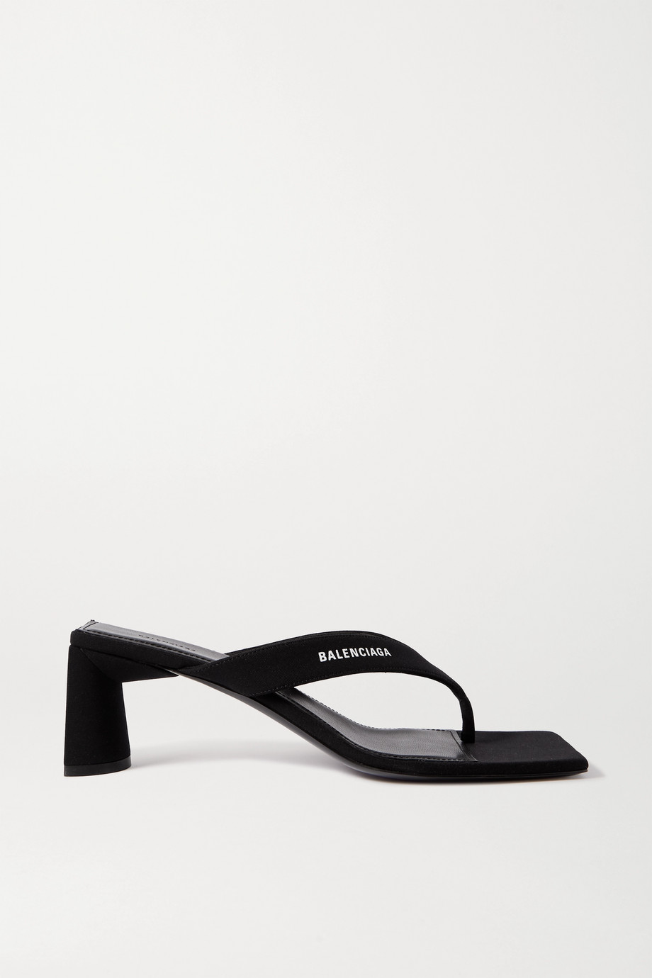 Balenciaga Logo-print jersey sandals