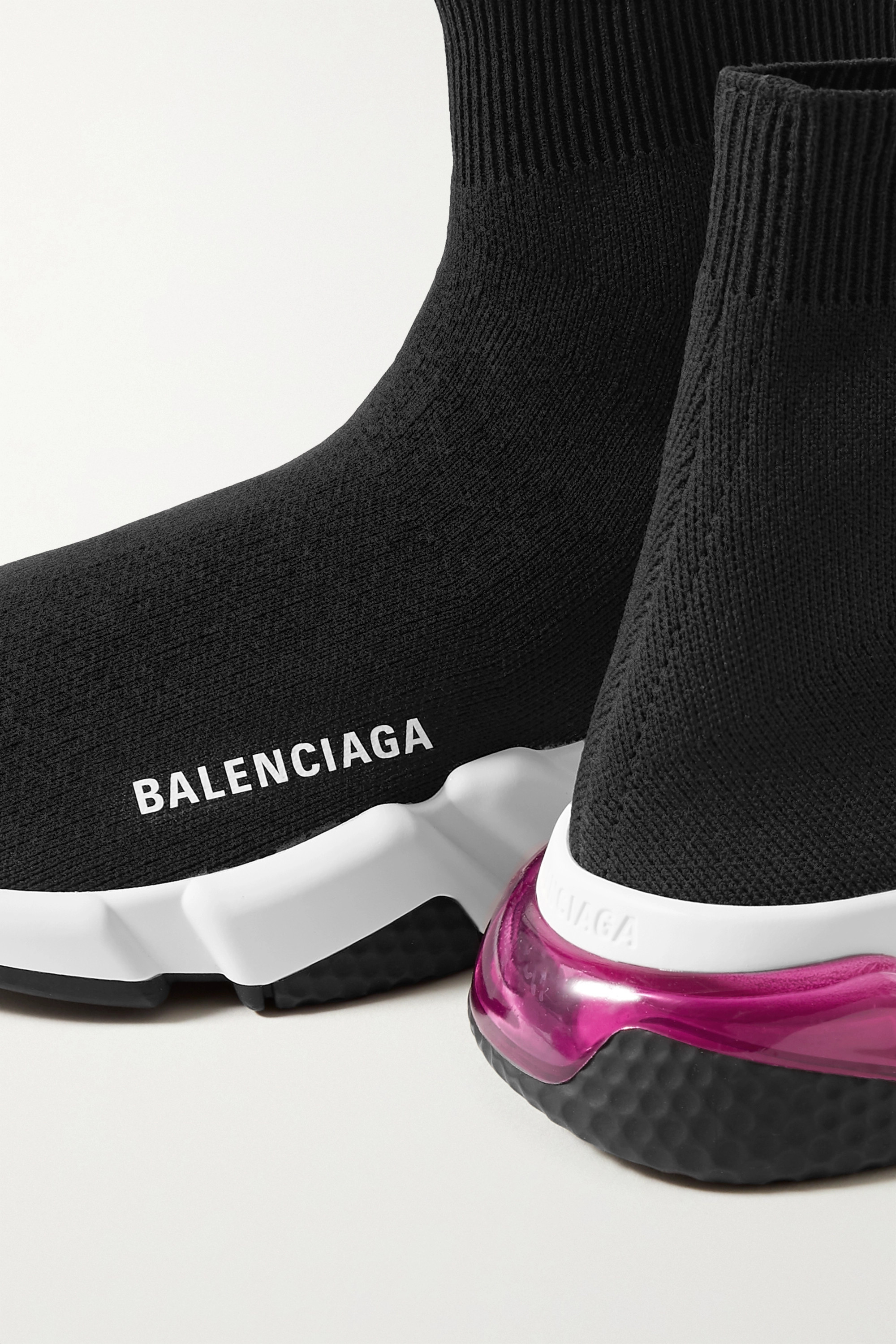 Balenciaga Baskets montantes en mailles stretch Speed