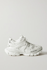 Balenciaga Track 2 logo-detailed mesh and rubber sneakers