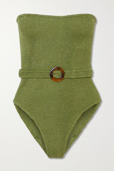 Khaki Belted Swimsuit