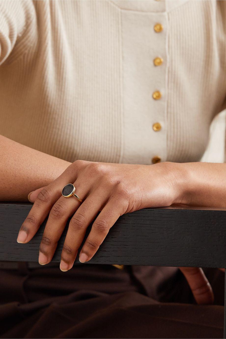 Melissa Joy Manning + NET SUSTAIN 14-karat gold sapphire ring
