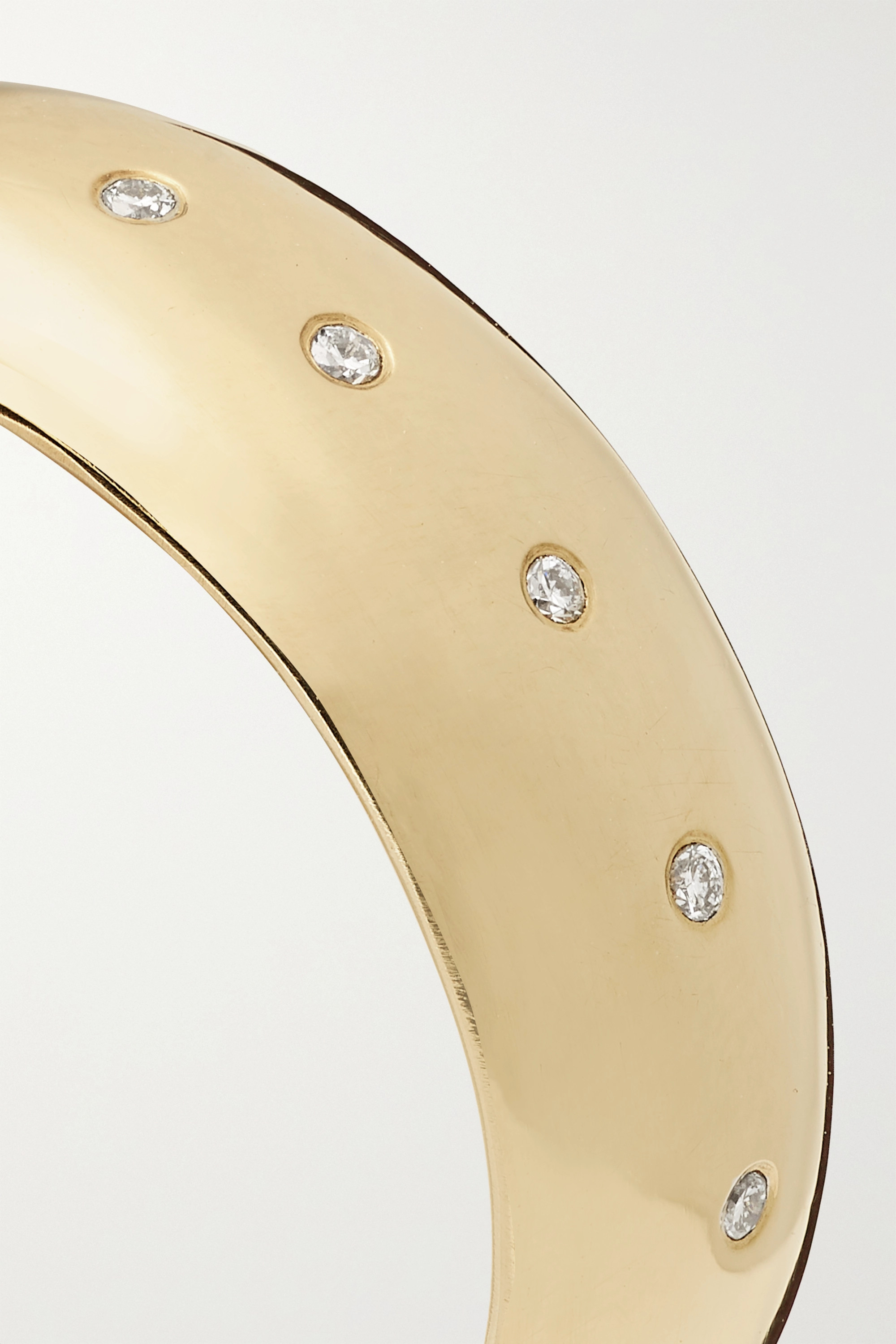 Melissa Joy Manning 18-karat gold diamond ring