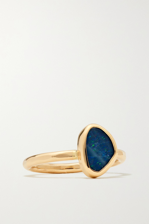Melissa Joy Manning 14-karat gold opal ring