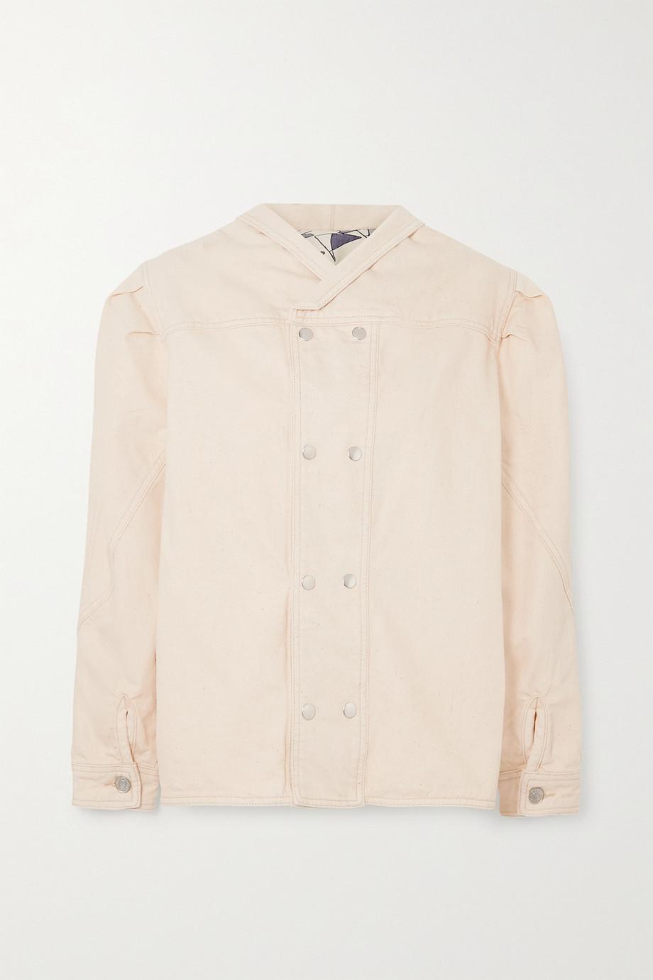 Isabel Marant Espera oversized double-breasted cotton jacket