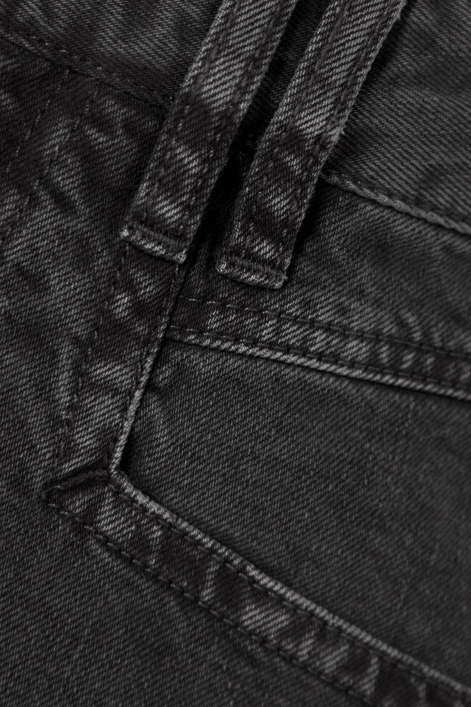 Isabel Marant Eneida frayed denim shorts