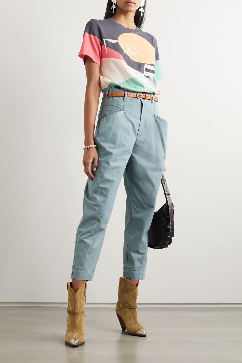 Isabel Marant Zewel printed cotton-jersey T-shirt