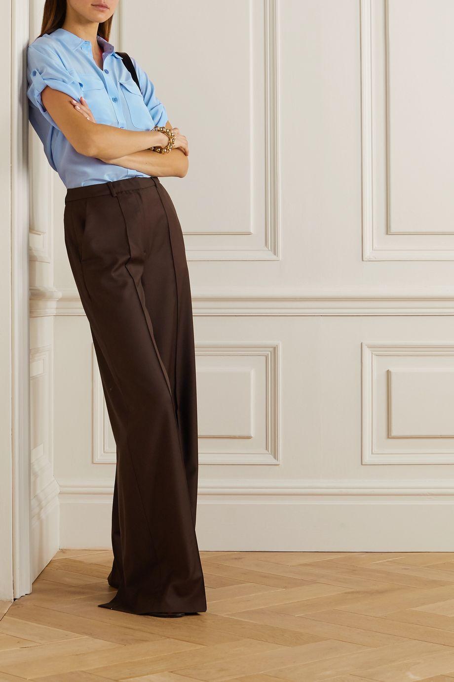 EQUIPMENT Marilau silk crepe de chine shirt