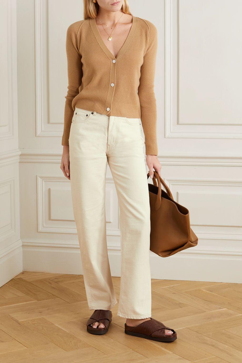 Victoria, Victoria Beckham High-rise straight-leg jeans