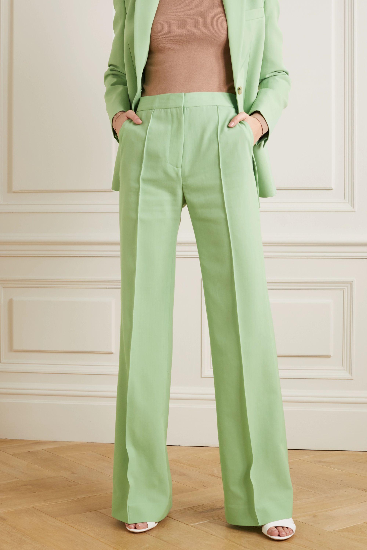 Victoria, Victoria Beckham Victoria twill wide-leg pants