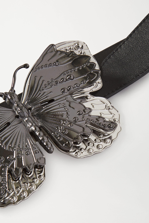 Paco Rabanne Embellished leather belt