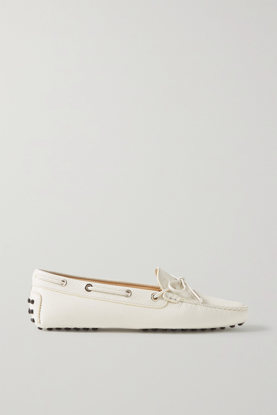 Tod's Gommino textured-leather loafers
