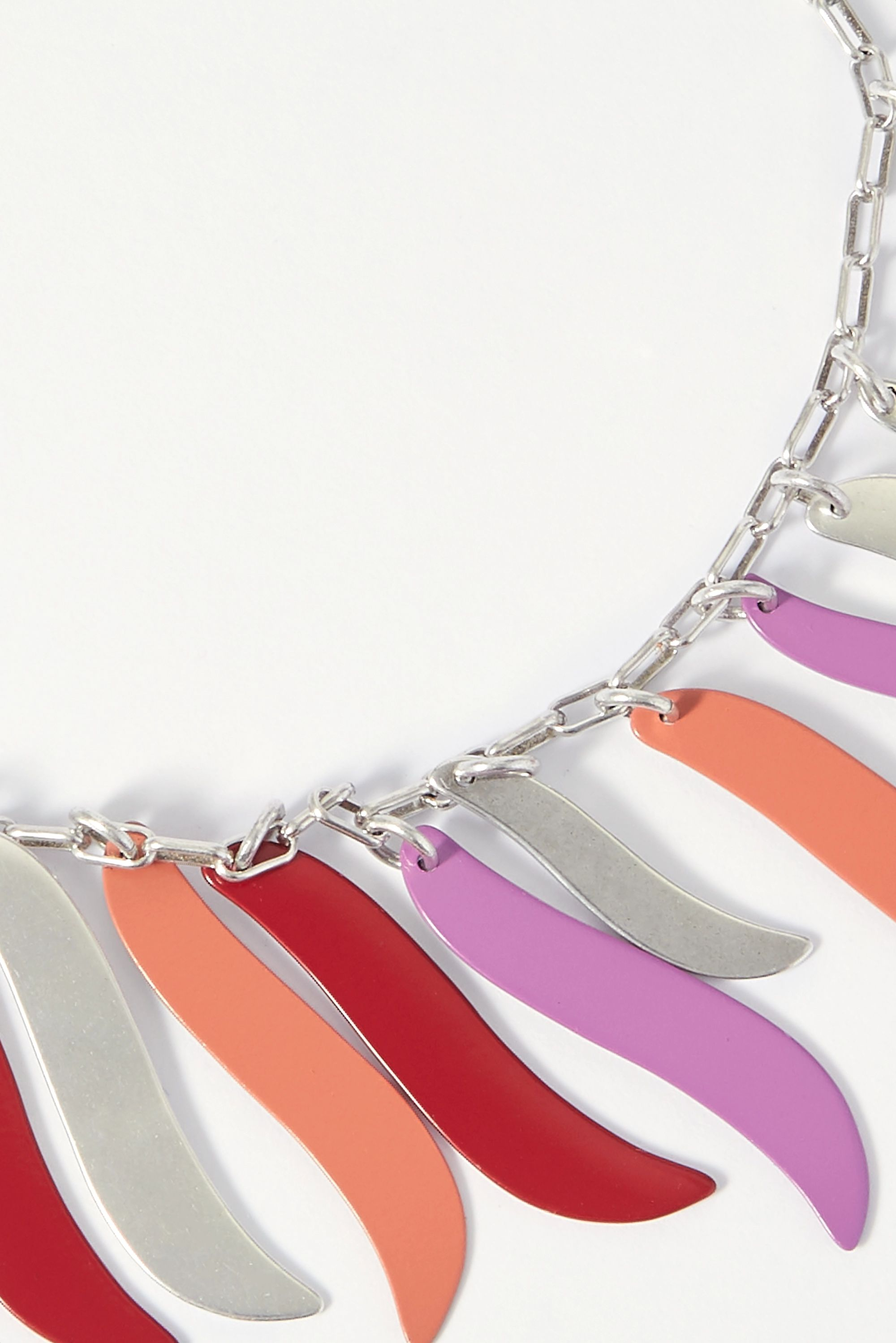 Isabel Marant Silver-tone and resin anklet