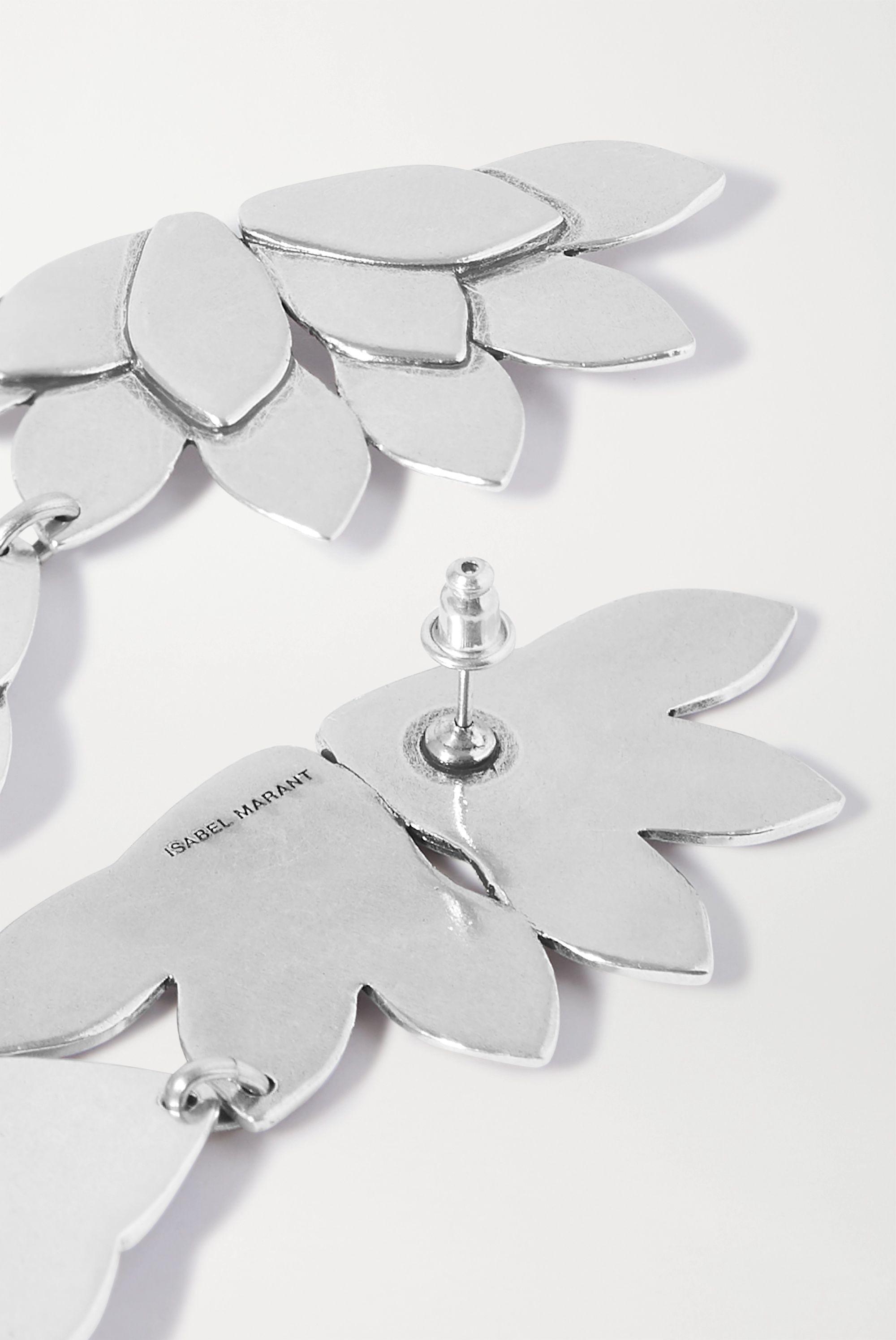 Isabel Marant So Long Jao silver-tone earrings