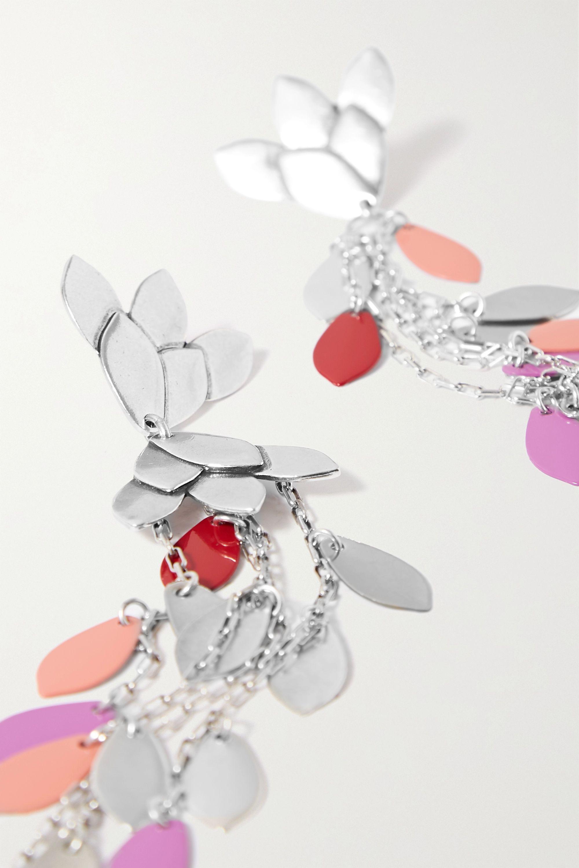 Isabel Marant Boucles d'oreilles en métal argenté Boucle Oreille