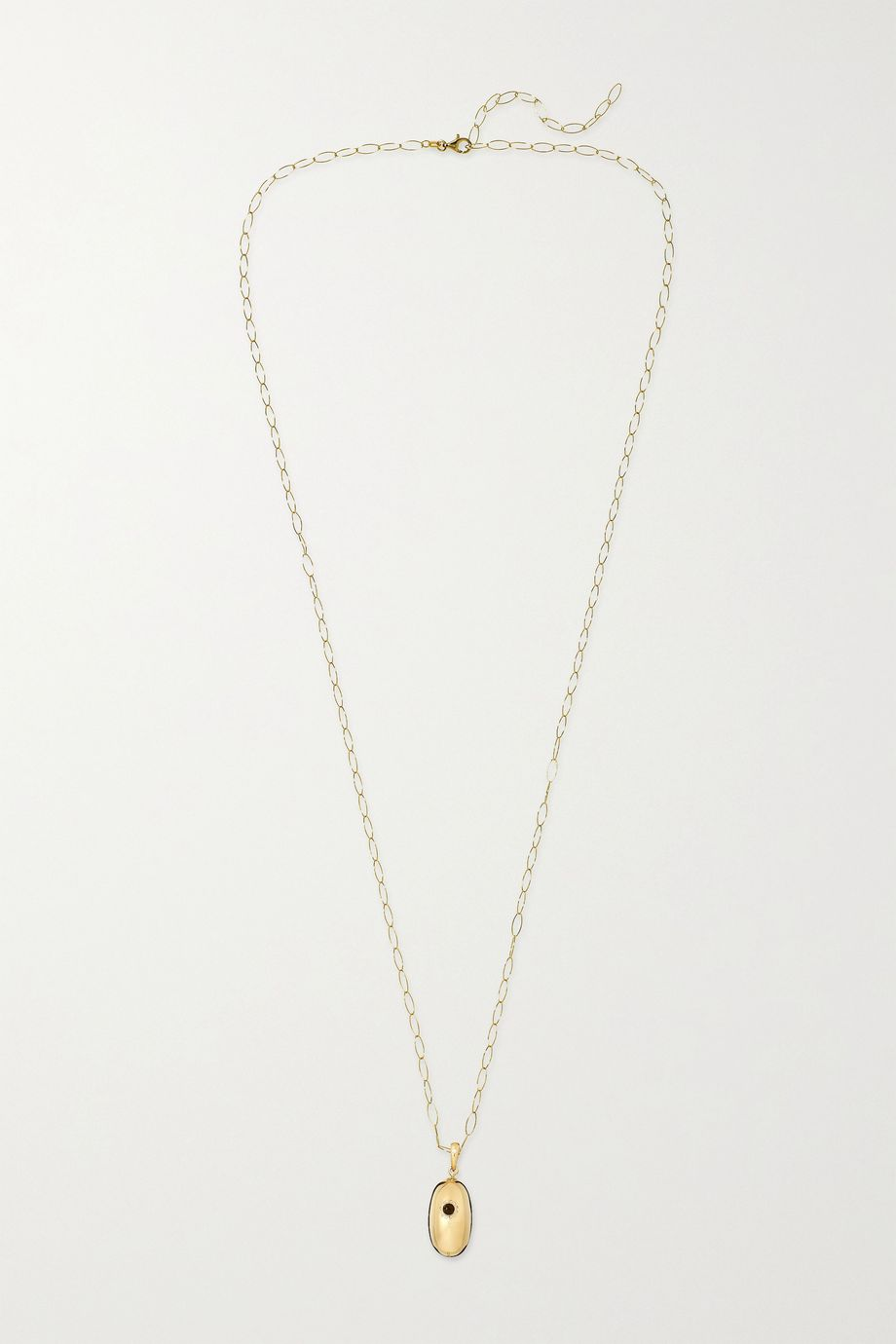 Loquet + Chantal Conrad Lumiere 14 and 18-karat gold necklace