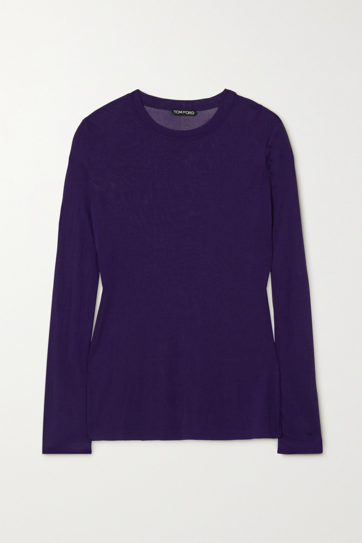 TOM FORD Stretch-knit top