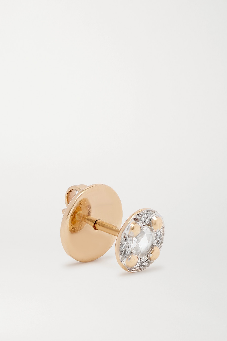 Pomellato M'ama non M'ama 18-karat rose gold diamond earrings