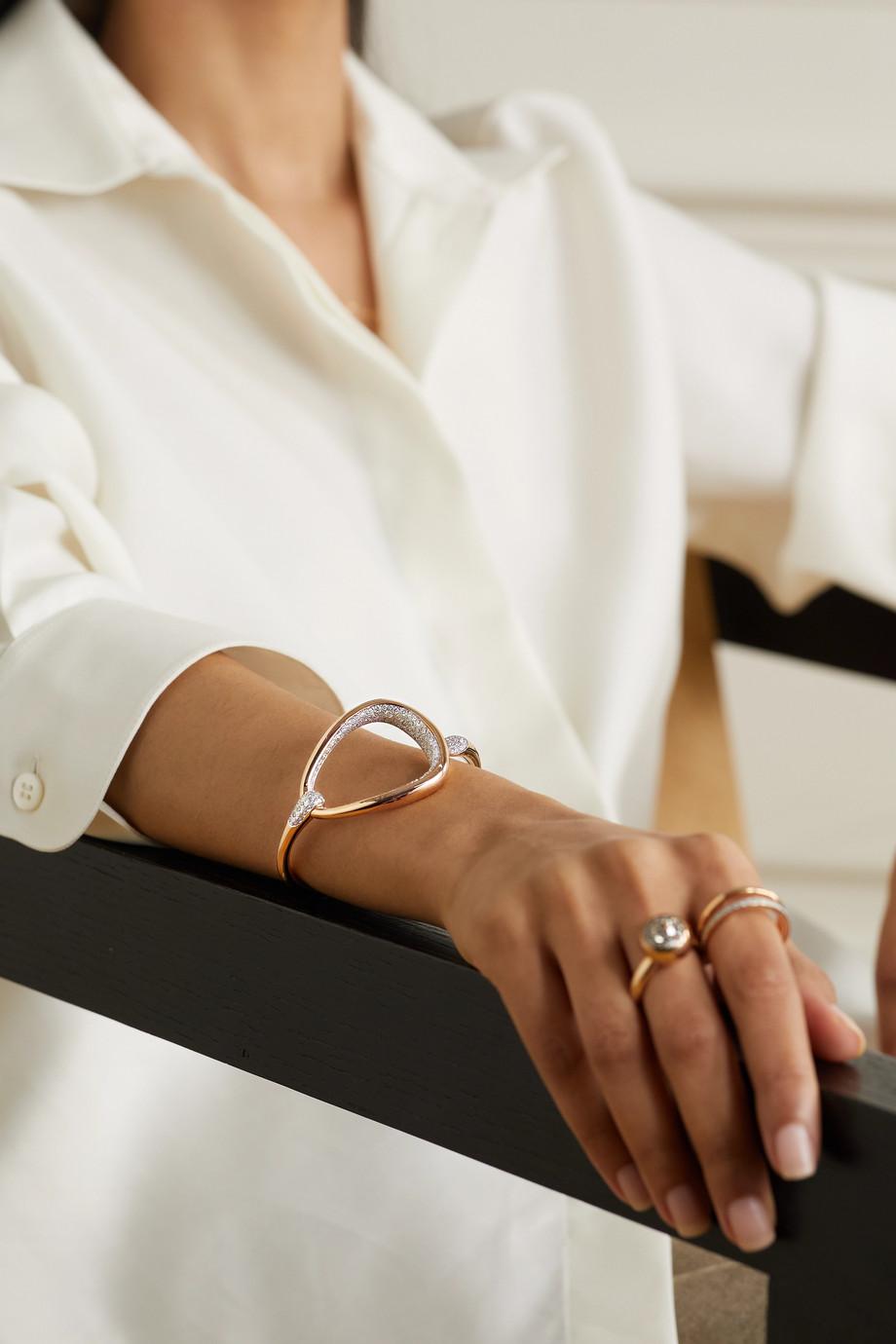 Pomellato Fantina 18-karat rose gold diamond bracelet