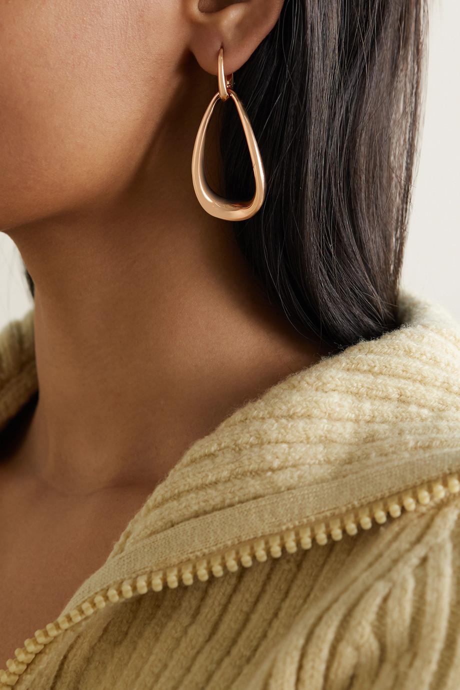 Pomellato Fantina 18-karat rose gold earrings