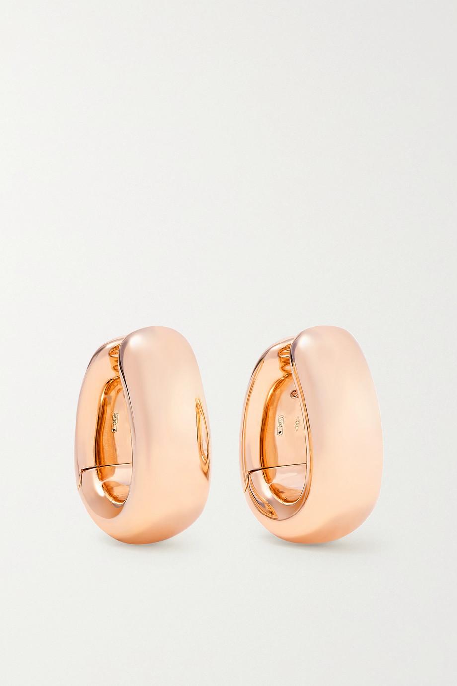 Pomellato Boucles d'oreilles en or rose 18 carats Iconica