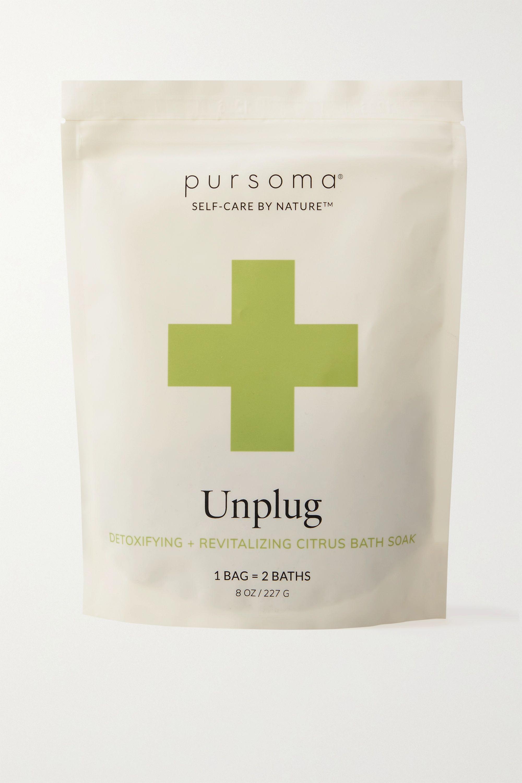 Pursoma Unplug Ritual Detoxifying + Revitalizing Lemon Verbena Bath Soak, 227g