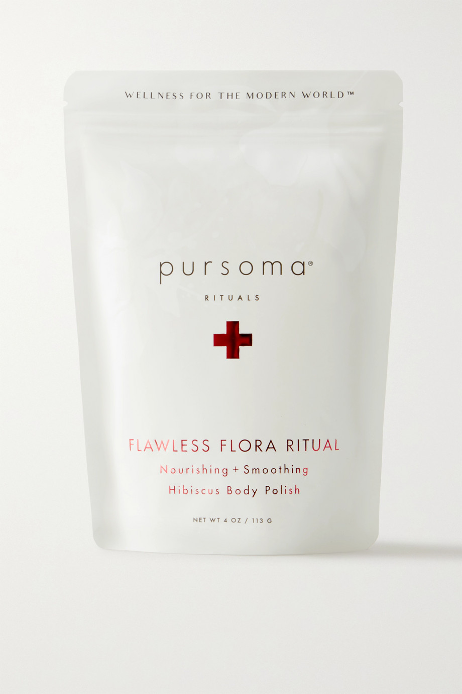 Pursoma Flawless Flora Ritual Nourishing + Smoothing Hisbiscus Body Polish, 113g