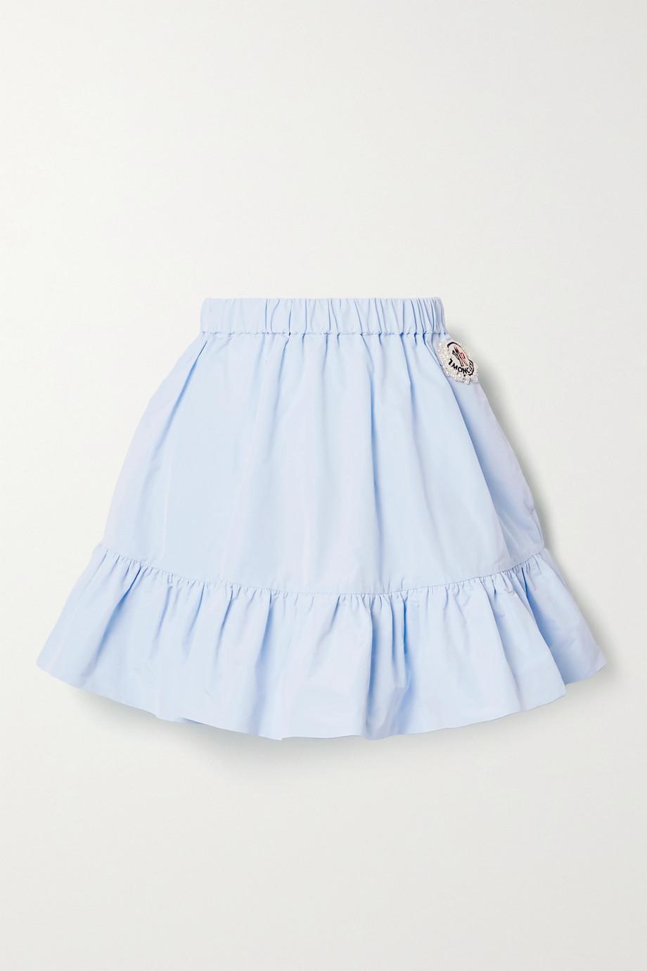 Moncler Genius + 4 Simone Rocha ruffled shell mini skirt