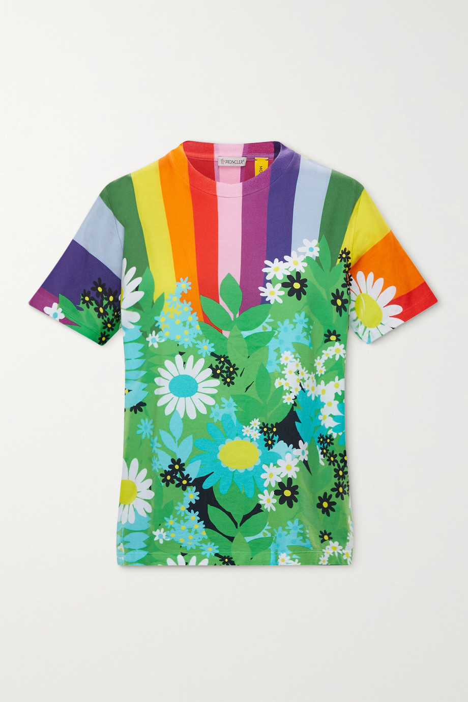 Moncler Genius + 8 Richard Quinn printed cotton T-shirt
