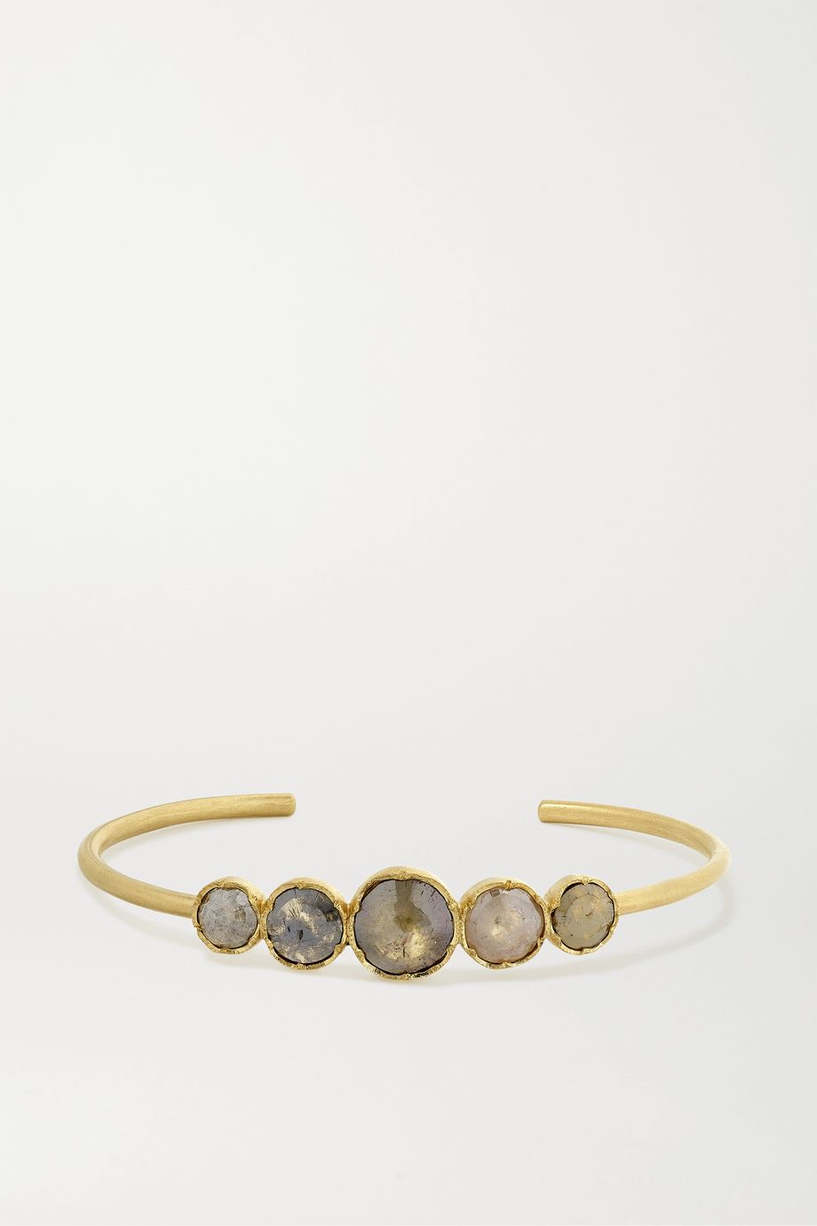 Brooke Gregson Orbit Armspange aus 18 Karat Gold mit Diamanten