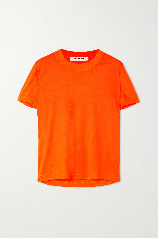 Junya Watanabe Neon jersey T-shirt