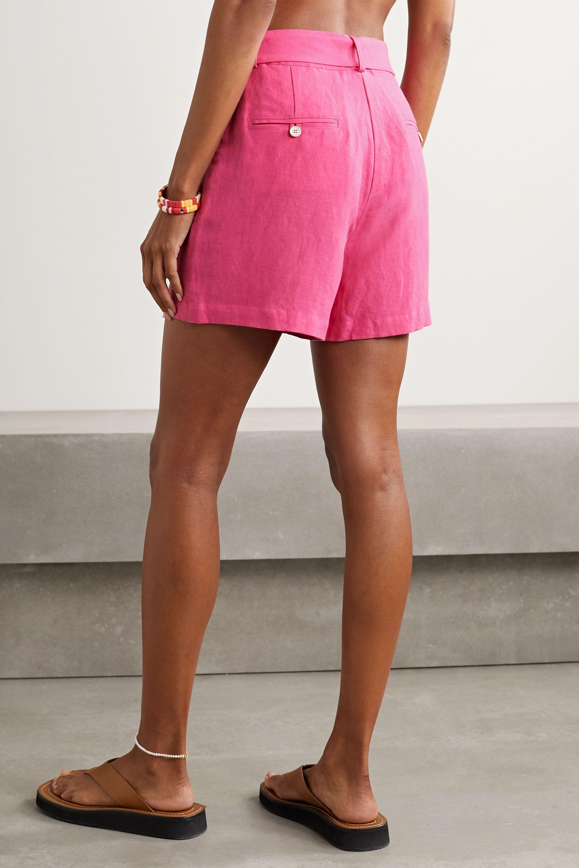 Solid & Striped Linen-blend shorts