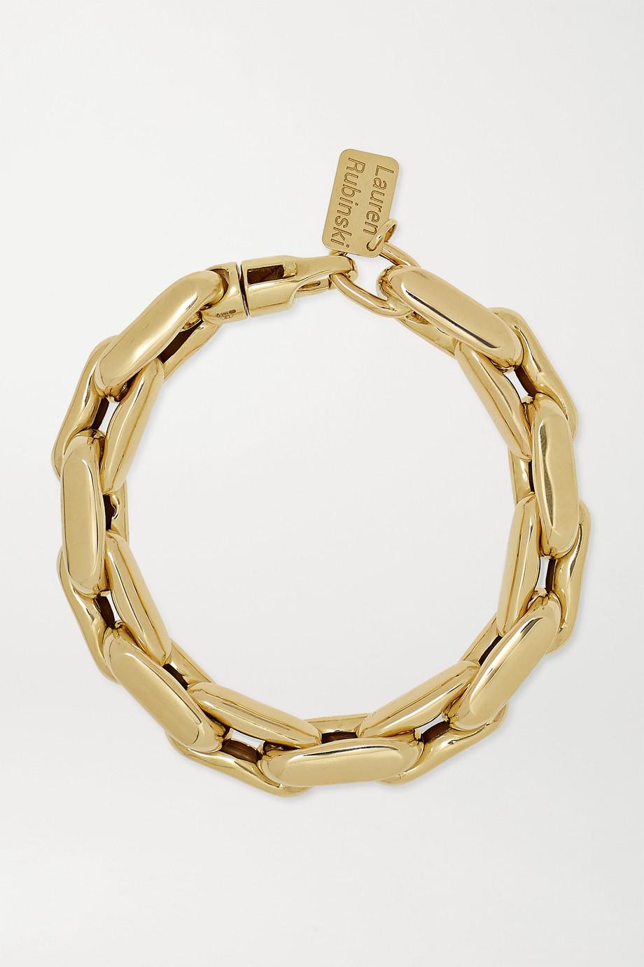 Lauren Rubinski 14-karat gold bracelet