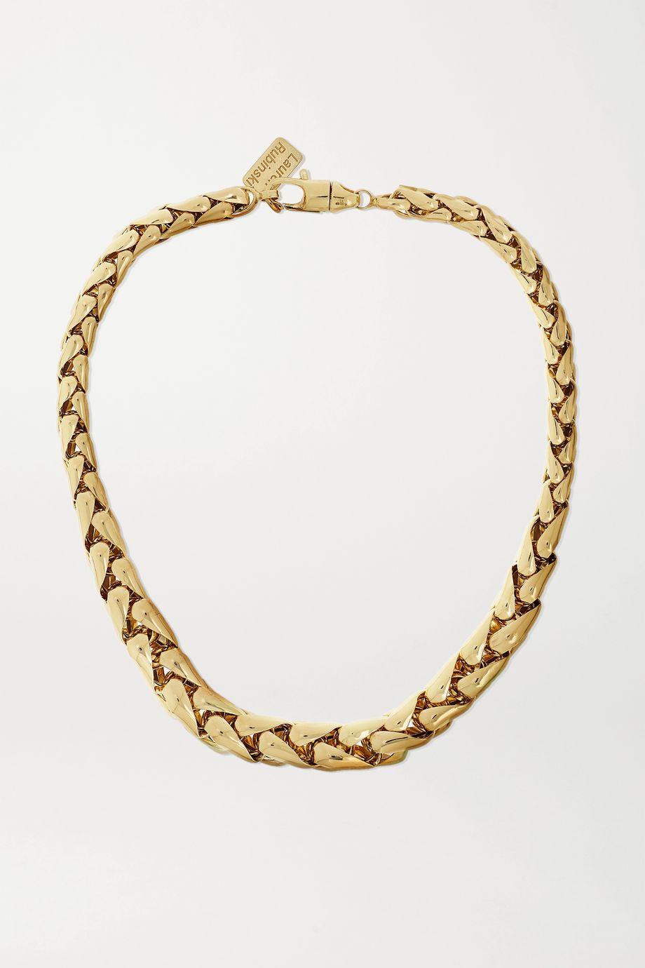Lauren Rubinski Small 14-karat gold necklace
