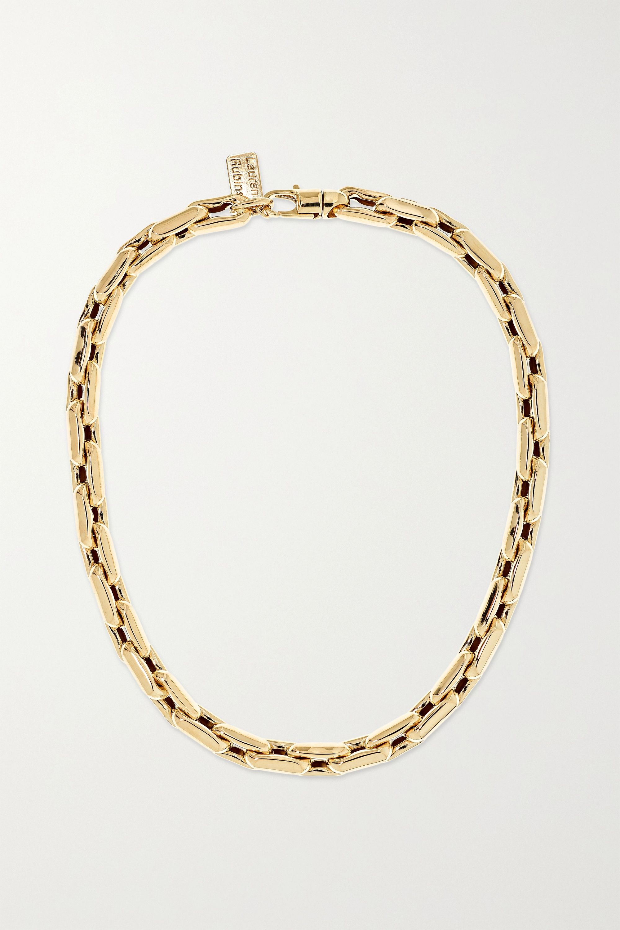 Lauren Rubinski Small Kette aus 14 Karat Gold