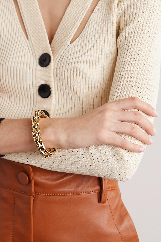 Lauren Rubinski Small 14-karat gold bracelet