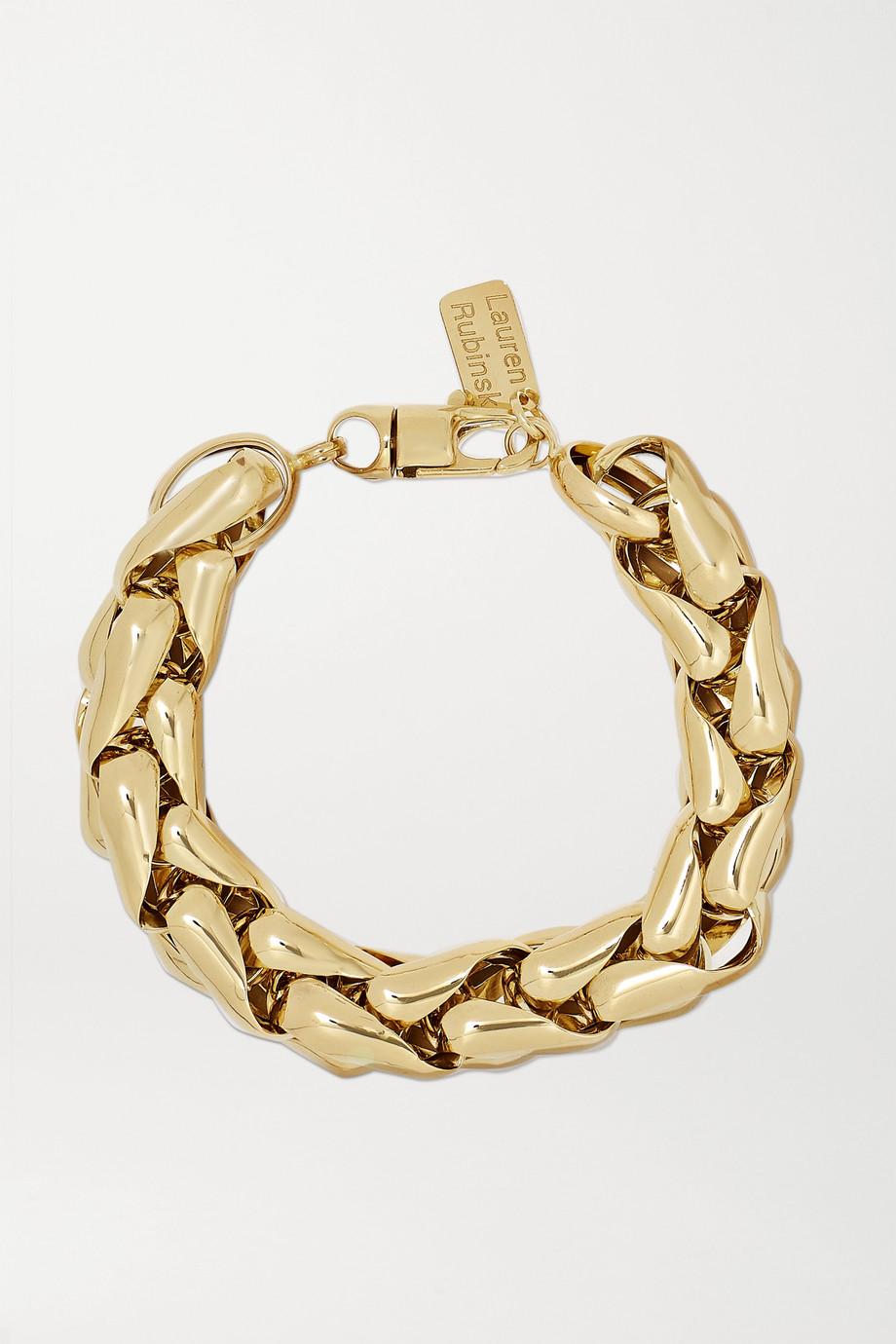 Lauren Rubinski Bracelet en or 14 carats Small