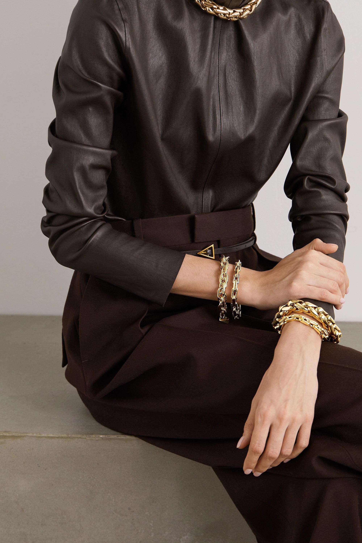 Lauren Rubinski Large 14-karat gold bracelet