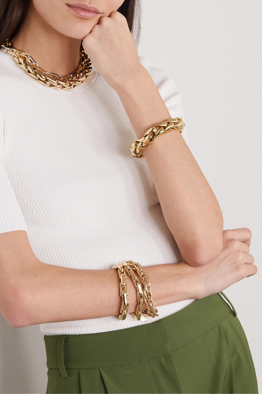 Lauren Rubinski Large Armband aus 14 Karat Gold