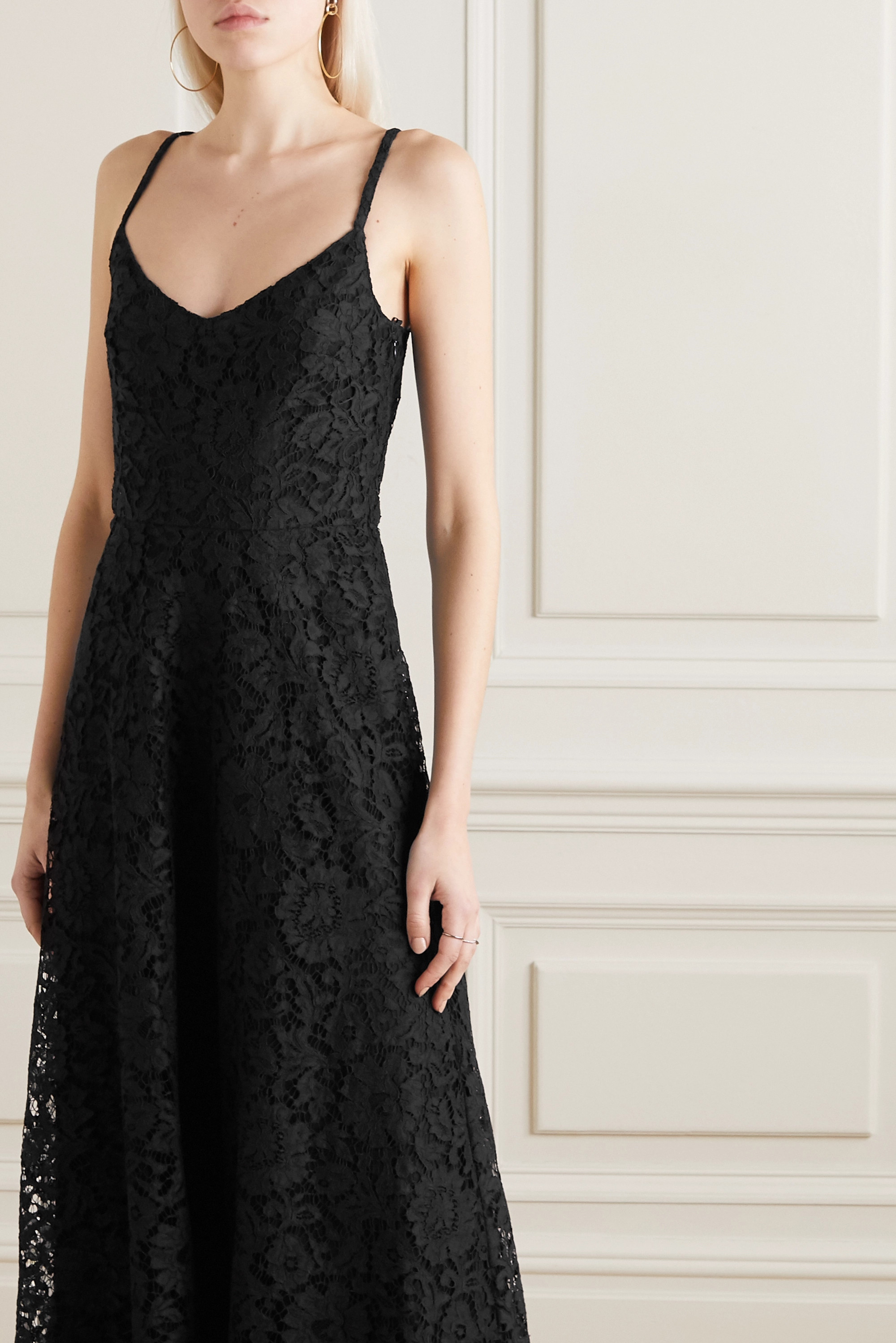 Valentino Corded lace gown