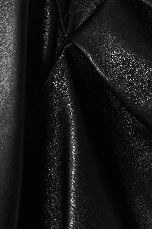 Valentino Cropped leather jacket