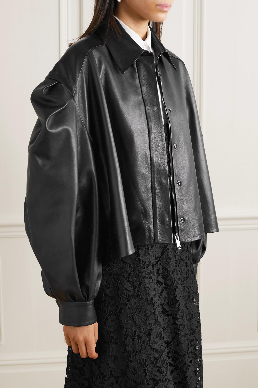 Valentino Veste raccourcie en cuir