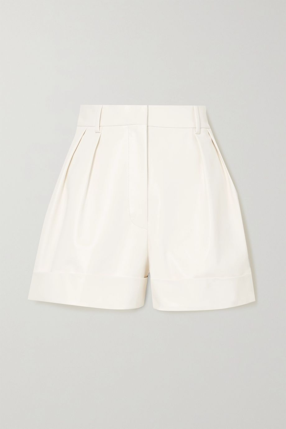 Valentino Shorts aus Leder