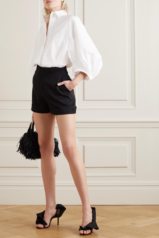 Valentino Cotton-blend poplin blouse